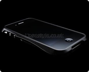 Deff Cleave iPhone 4S 4 Metal Bumper Case Black