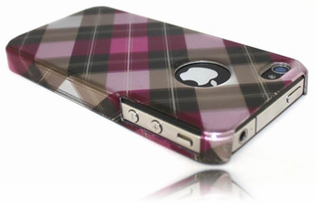 iPhone 4S 4 Metallic Shine Hard Case