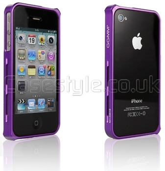 GGMM iPhone 4S 4 Aluminum Bumper Purple