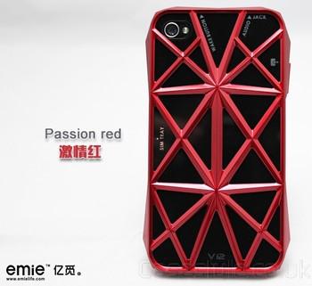 iPhone 4S 4 Emie Aventador Case Red