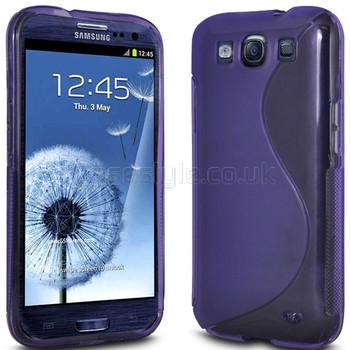 Samsung Galaxy S3 NEO Silicone Case Purple