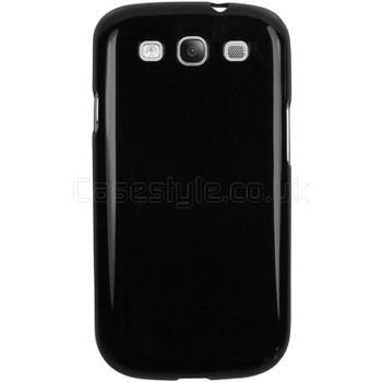 Samsung Galaxy S3 Silicone Gel Case Black