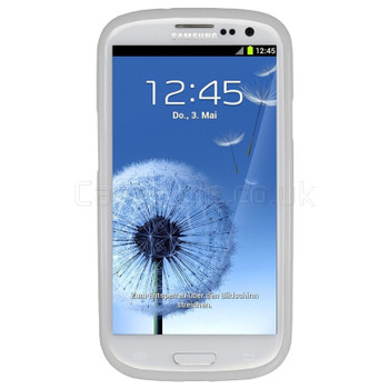 Samsung Galaxy S3 Silicone Gel Case White