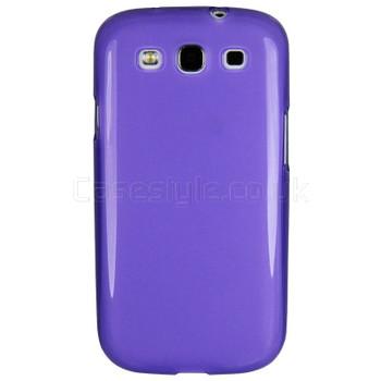 Samsung Galaxy S3 Silicone Gel Case Purple
