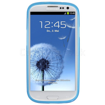 Samsung Galaxy S3 Silicone Gel Case Blue