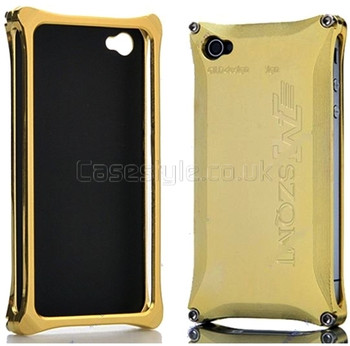 Gild Design iPhone 4S 4 MSZQMJ Metal Case Gold