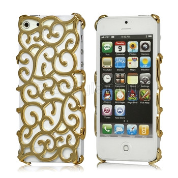 iphone 5 womens gold cover