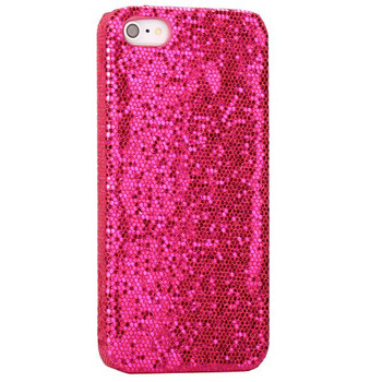 iPhone 5 5S Bling Glitter Case Pink