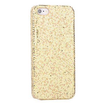 iPhone 5 5S Bling Glitter Case Gold
