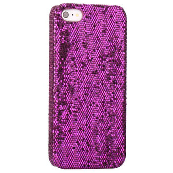 iPhone 5 5S Bling Glitter Case Purple