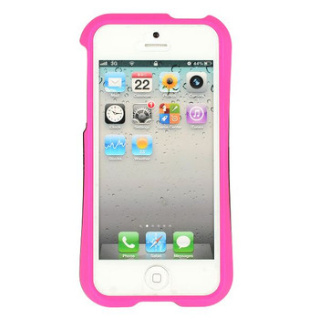iPhone 5 5S Detachable Bumper Pink Black