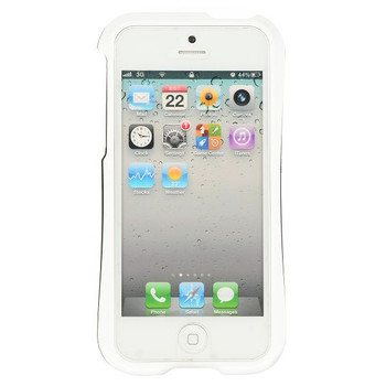 iPhone 5 5S Detachable Bumper White Black