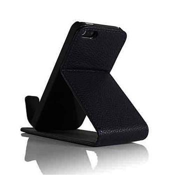 iPhone 5 5S Protective Flip Case Black
