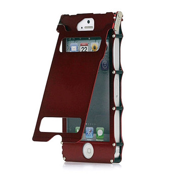 iPhone 5 Iron Case Red