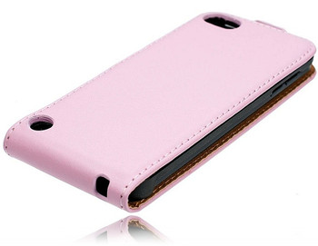 iPod Touch 5 Flip Case Pink