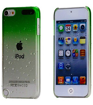 iPod Touch 6/5 Green Clear Gradient Case