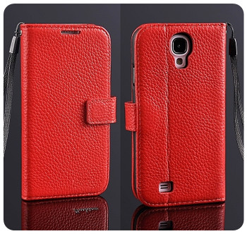 Samsung S4 Phone Leather Wallet