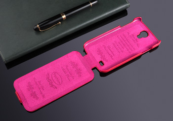 Samsung Galaxy S4 Genuine Leather Flip Case Pink