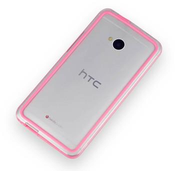 HTC One M7 Bumper Case Pink