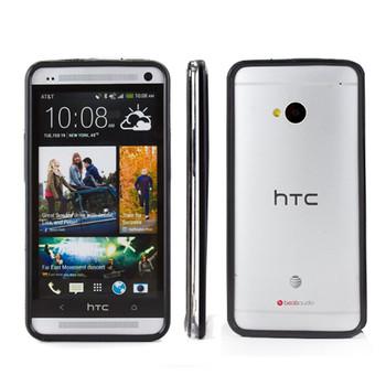 HTC One M7 Bumper Case Black