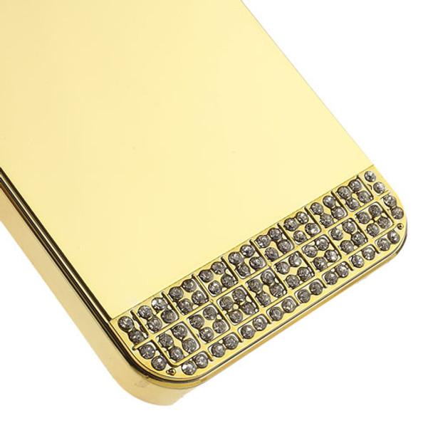 iPhone 5S Luxury Diamond Mirror Case Full Gold