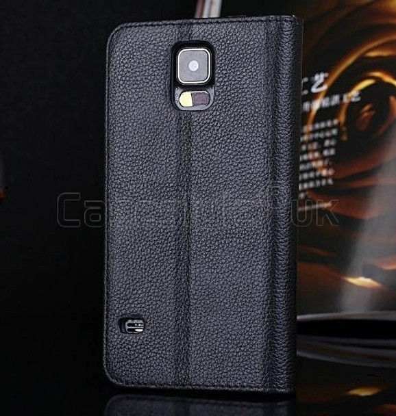 s5 genuine leather wallet