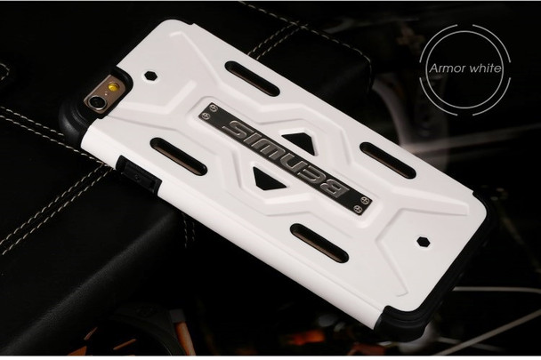 iPhone 6 6S Defender Case White