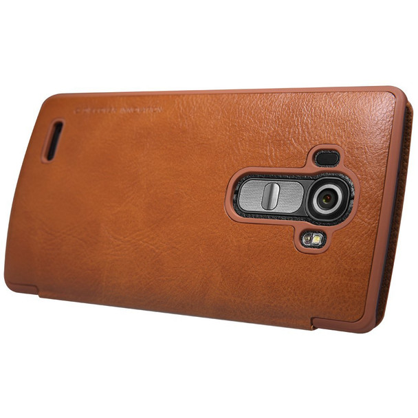 Nillkin LG G4 Quick Circle Window Case Brown