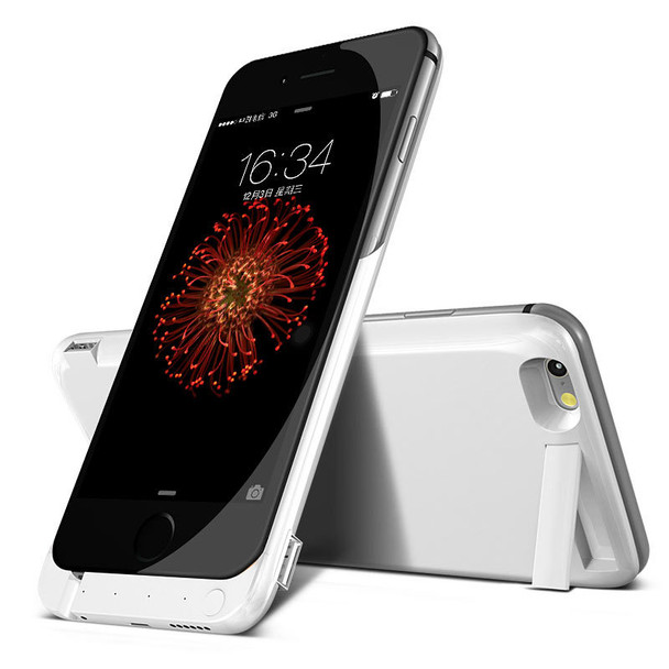 iPhone 6S 6 Battery Case White