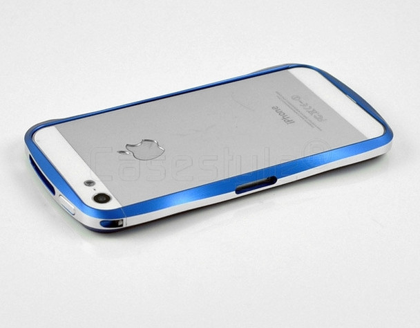 Deff Cleave iPhone SE Aluminum Bumper Blue