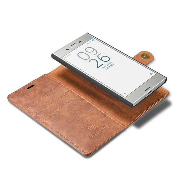 Sony Xperia XZ Luxury Leather Case+Back Cover Brown