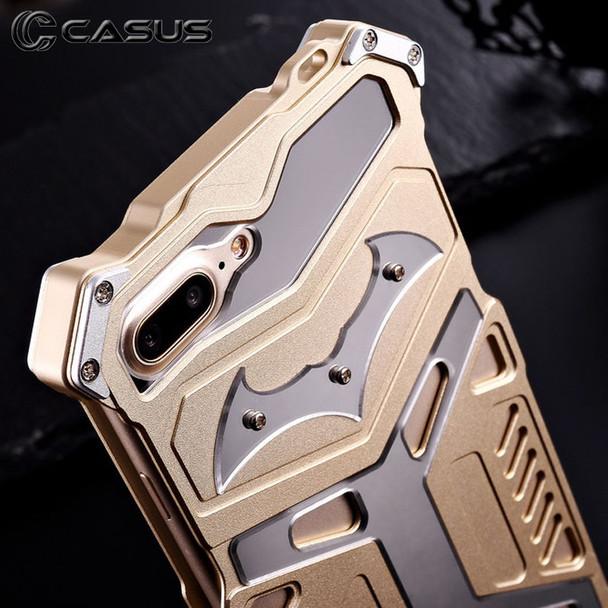 iPhone 7 Rugged Aluminum Steel Armor Case Gold