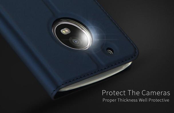 Motorola Moto G5 Case Cover Blue