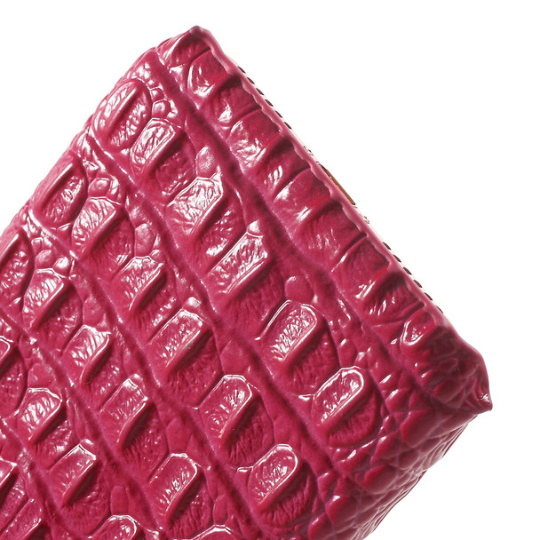iPhone 8 Luxury Crocodile Case Pink