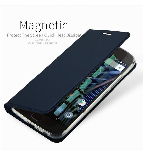 Moto G5S PLUS Case Cover Blue