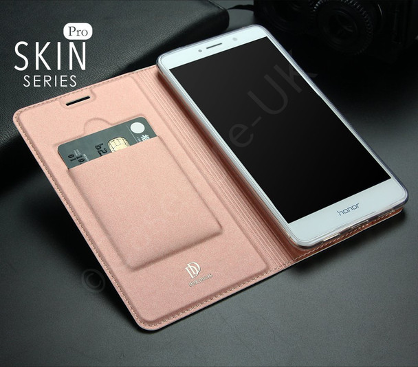 Honor 6X Cover Case Rose Gold