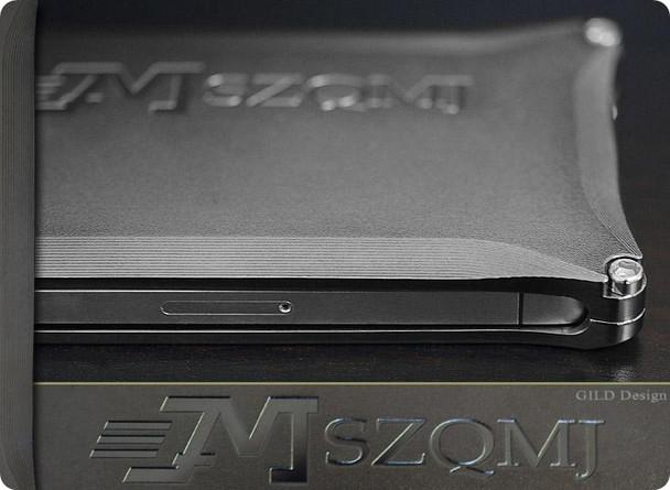 Gild Design iPhone 4S 4 Metal Bumper Case Titanium