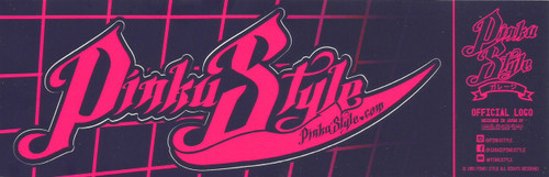 Official Pinku Style Sticker