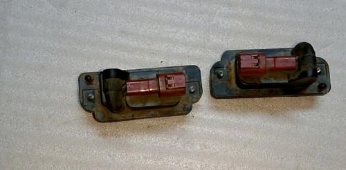R32 Rear Plate Lamp Set