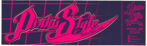 Pinku Style Sticker Medium Size Kiss Cut