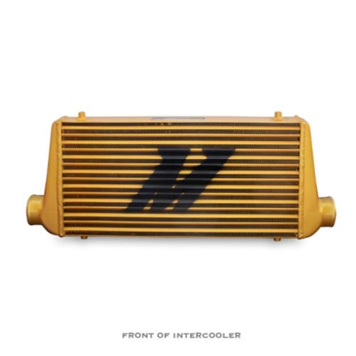 Mishimoto Universal Intercooler M-Line Eat Sleep Race Edition, All Gold