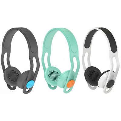 Boom SWAP Water Resistant Customizable Headphones w/ Inline Mic and Remote