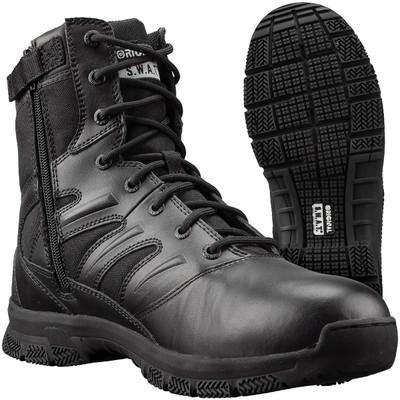 "Original S.W.A.T. Force 8"" Side Zip Men's Tactical Swat Duty Boots 155201"