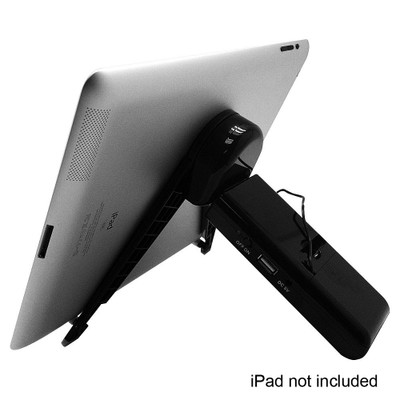 "Hype Stereo 3.5 mm Speaker 10.1"" iPad, Tablet & Cell Phone Adjustable Stand"