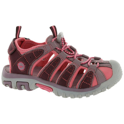 Hi-Tec Boys 31483 Shore Ch Sandals Plum/Elderberry/Blossom