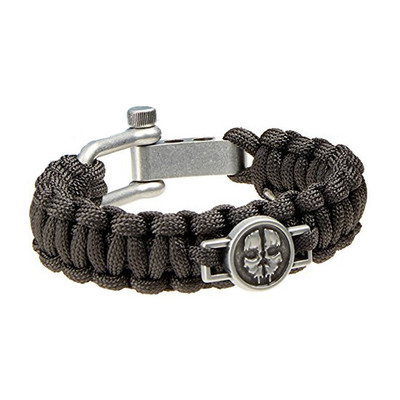 Call of Duty Ghosts Tactical Versatile Paracord Strap Bracelet - Black