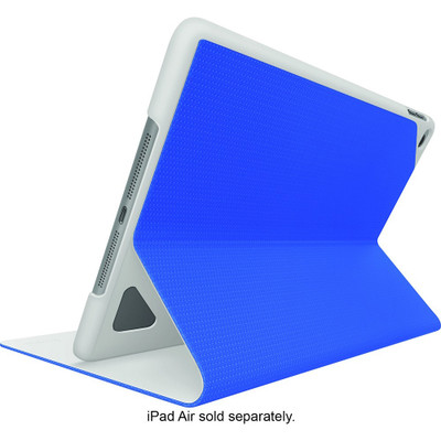 Logitech Hinge Nylon EPS Flexible Case for iPad Air 2 w/Any-Angle Stand - Blue