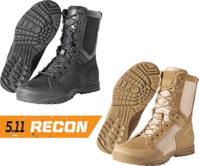 "5.11 Recon Desert and Urban 8"" Tactical Military & Police Boot 11011/11010"