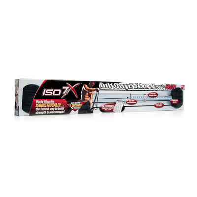 ISO 7X Isometric Build Strength & Lean Muscle Workout 7 Second Revolution Bar