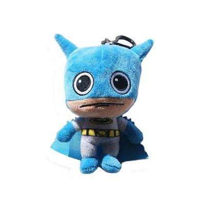 "DC Comics ""Super Soft"" Batman Plush Coin Clip Key Chain Toy Bag"